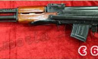 NUOVO #N-0067 SDM - AK47 calibro 7,62x39 Calcio Ribaltabile ARMA SPORTIVA Prezzo di listino ufficiale euro 600,00 Acquistabile esclusivamente in armeria a seguito di presentazione di Porto d'Armi o titolo di polizia equipollente. Presenti anche su: