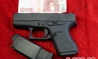 NUOVO #N-0098 Glock - 43 calibro 9x21 ARMA COMUNE Prezzo di listino ufficiale euro 609,00 Acquistabile esclusivamente in armeria a seguito di presentazione di Porto d'Armi o titolo di polizia equipollente. Presenti anche su: