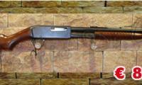 USATO #0117 Remington - 14 calibro 25 Remington funzionamento a pompa (1916 - 1920) ARMA COMUNE Prezzo euro 800,00 Acquistabile esclusivamente in armeria a seguito di presentazione di Porto d'Armi o titolo di polizia equipollente. Presenti anche su: