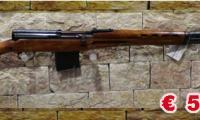 USATO #0166 Tokarev - SVT40 calibro 7,62x54R ARMA COMUNE Prezzo euro 550,00 Acquistabile esclusivamente in armeria a seguito di presentazione di Porto d'Armi o titolo di polizia equipollente. Presenti anche su: