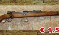 USATO #0336 EX ORDINANZA Mauser - K98 calibro 8X57 JS  NOTE: - contratto portoghese 1941  ARMA DA CACCIA Prezzo euro 1.500,00 Acquistabile esclusivamente in armeria a seguito di presentazione di Porto d'Armi o titolo di polizia equipollente. Presenti anche su: