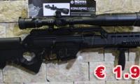 USATO #0518 Heckler & Koch - SL8 calibro 223 Remington  NOTE: - condizioni pari al nuovo - tre caricatori - ottica Konus 8,5-32x56    ARMA SPORTIVA Prezzo euro 1.900,00 Acquistabile esclusivamente in armeria a seguito di presentazione di Porto d'Armi o titolo di polizia equipollente. Presenti anche su: