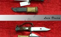 USATO #L-0021 Baionetta AK 47 lunghezza lama cm 15 lunghezza impugnatura 12  NOTE: - n.n.  ARMA BIANCA Prezzo euro 100,00 Acquistabile esclusivamente in armeria a seguito di presentazione di Porto d'Armi o titolo di polizia equipollente. Presenti anche su:
